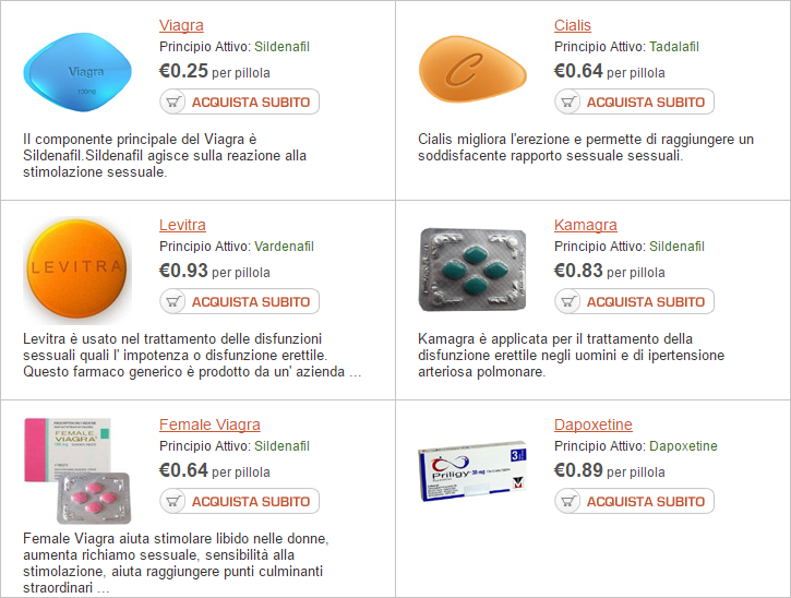 prodotti per erezione in farmacia senza ricetta in bustine